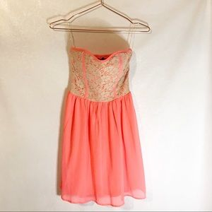 Rue 21 strapless dress size small
